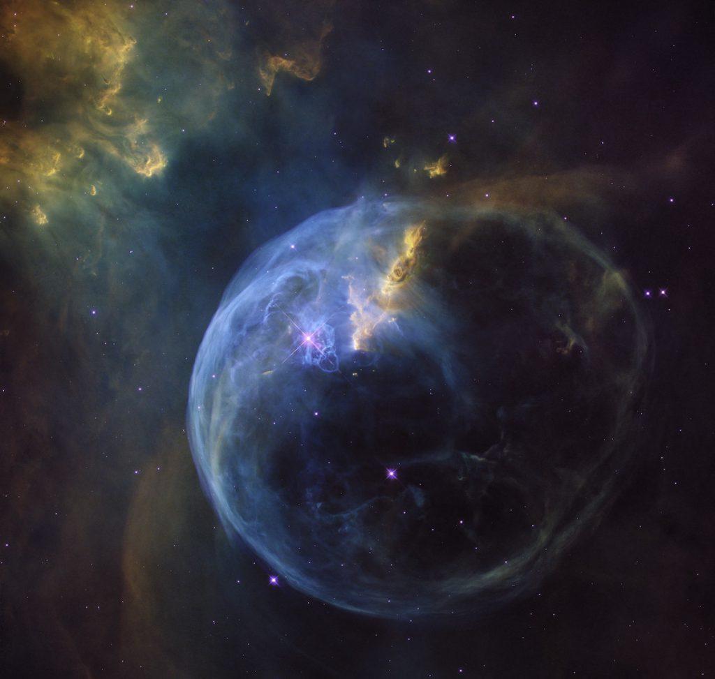 Nebulosa de la Burbuja- NASA, ESA, Hubble Heritage Team