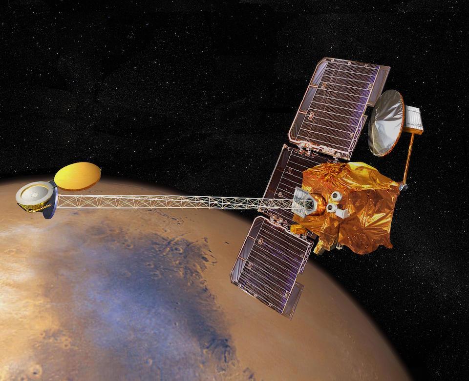 Sonda espacial Mars odyssey