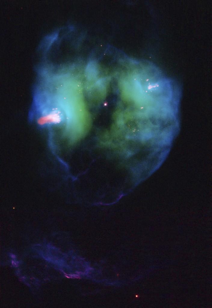 Un engaño cósmico al ojo. nebulosa planetaria NGC 2371- NASA/ESA/Hubble Heritage Team (STScI/AURA)