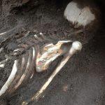 Encuentran cuatro entierros prehispánicos en Xochimilco