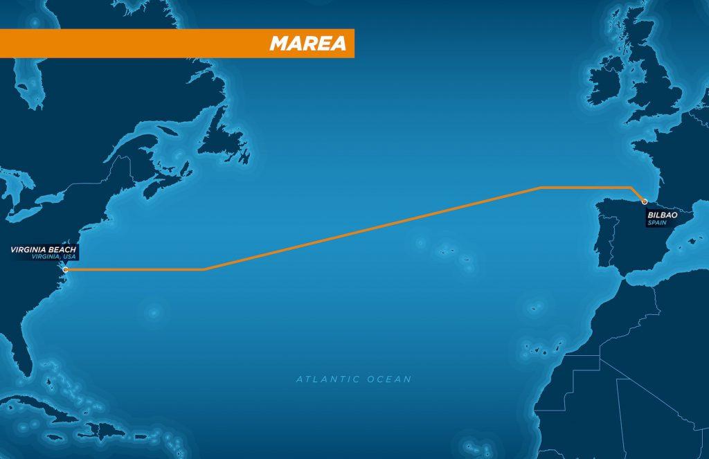 Marea, cable submarino entre EEUU y España, de Microsoft y Facebook- Microsoft