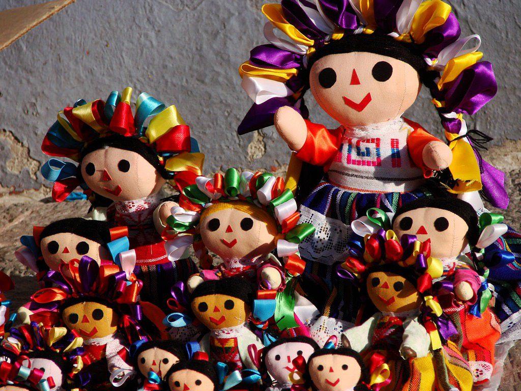 Muñecas mexicanas, diversidad cultural