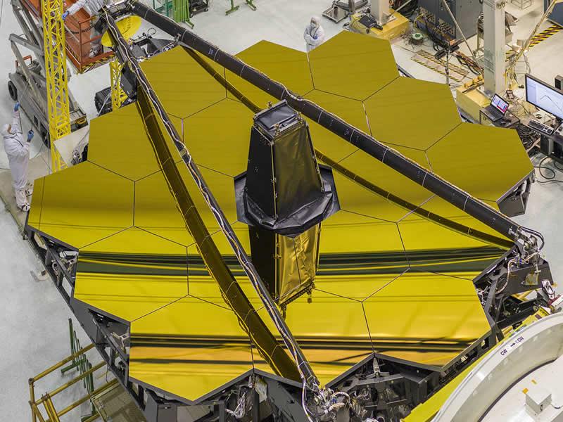 Telescopio espacial James Webb- NASA_Chirs Gunn