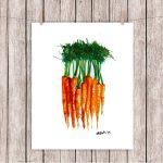 ¿Porqué las zanahorias son de color naranja?. Su genoma lo revela