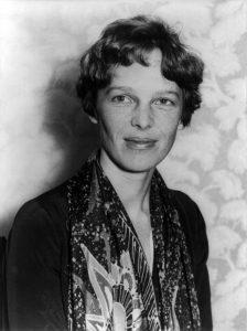 Amelia Earhart en 1935