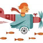 Amelia Earhart, primera mujer en cruzar el Atlántico en avión y la primera en hacerlo en solitario