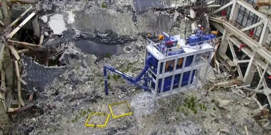 Aspirador gigante para limpiar los desechos radiactivos en Fukushima- EFE