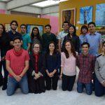 Exponen muestra pictórica en el Congreso  estudiantes de Secundaria y Bachillerato