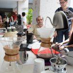 Expoventa de productos naturales de artesanos de Coatepec, en el Congreso