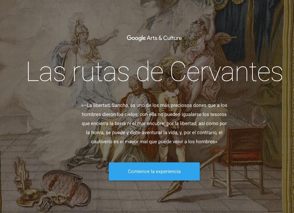 Las rutas de Cervantes- Google
