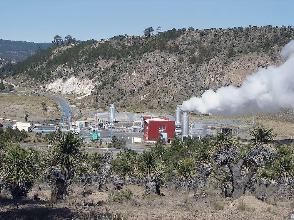 Los humeros, geotermia