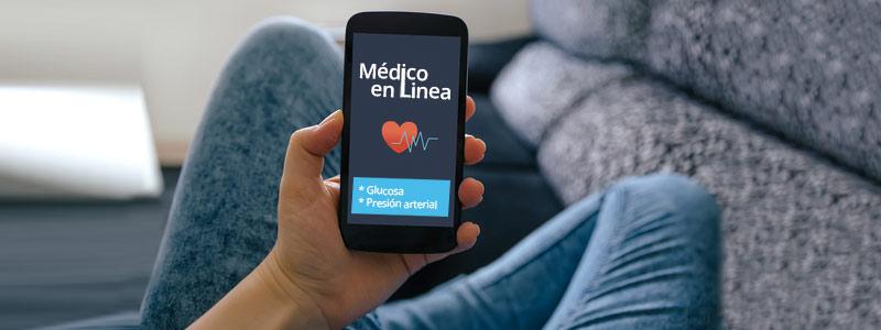 Aplicaciones que monitorean y emiten alerta en riesgo por glucosa o presión arterial