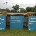 Un urinario público produce electricidad a partir de la orina