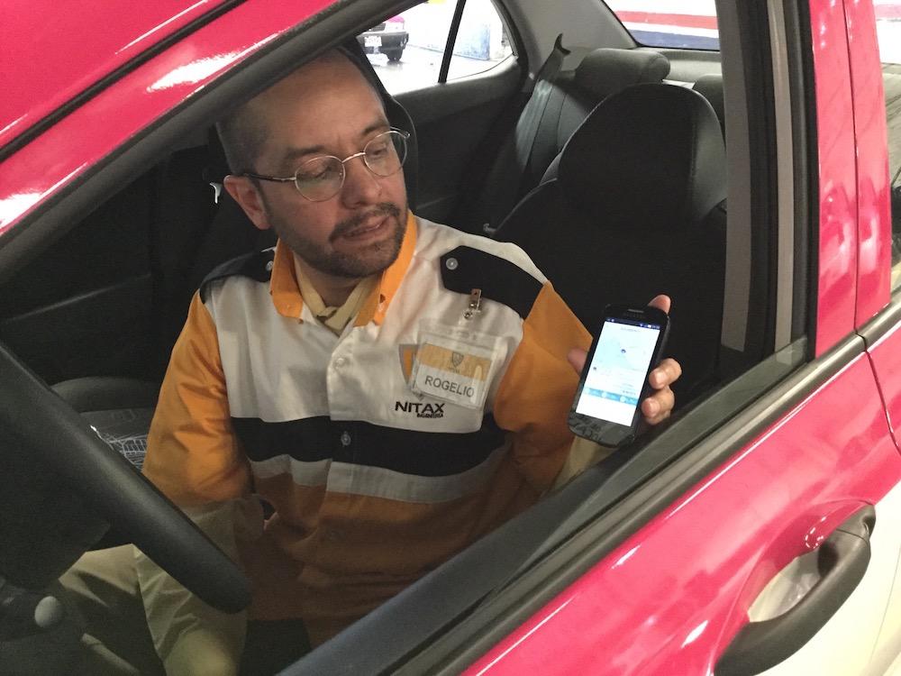 Aplicación para taxis inteligentes