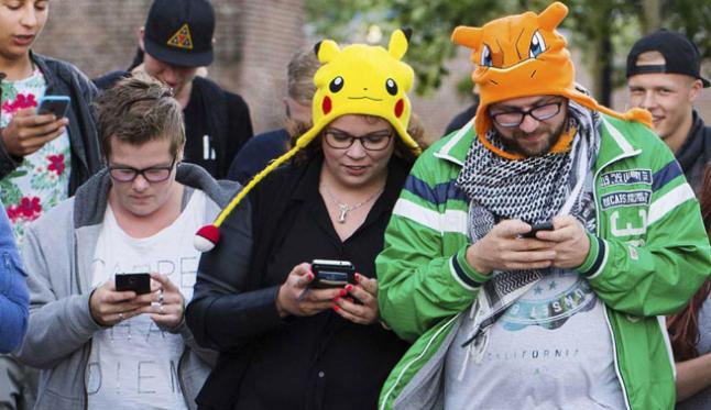Cazadores de Pokemon