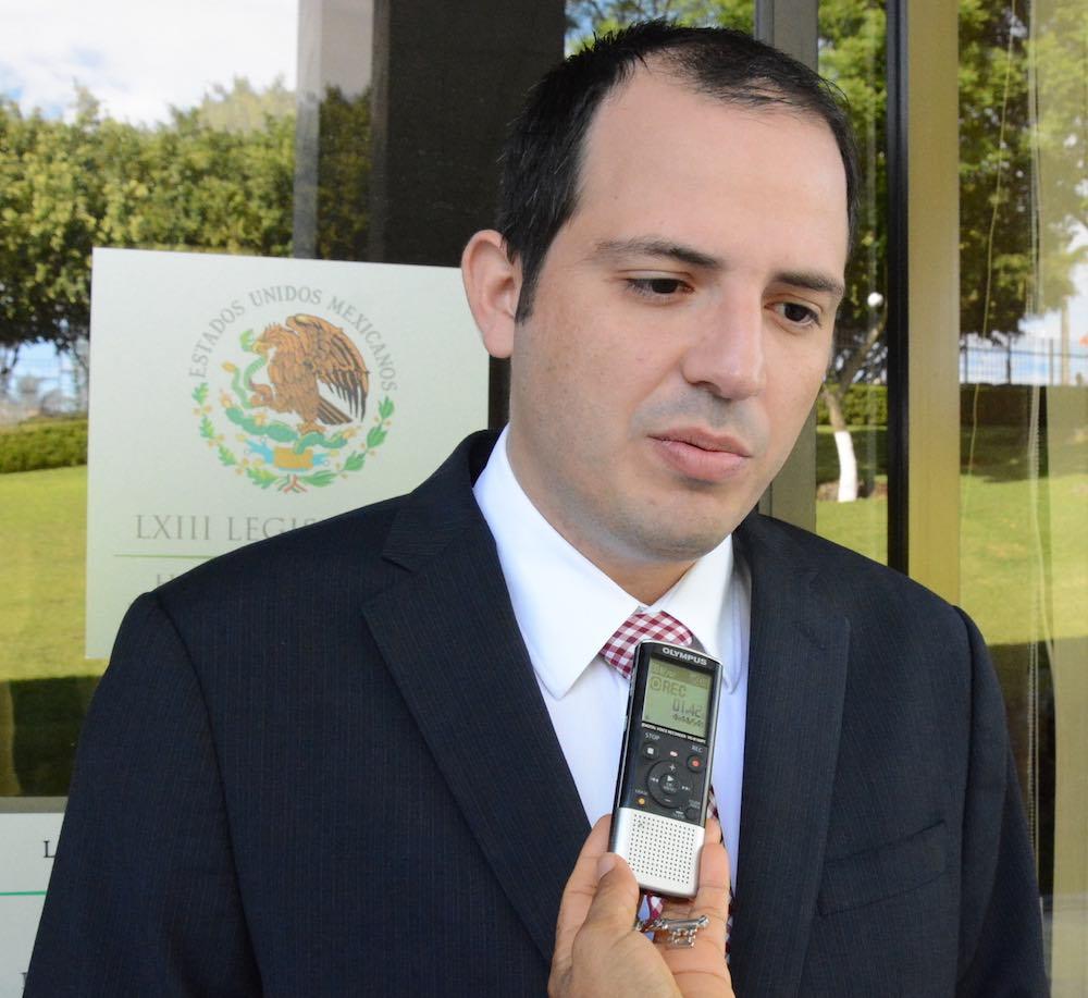 Diputado Octavio Pérez Garay