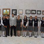Exponen muestra pictórica alumnos del Instituto Francisco Xavier Alegre en el Congreso