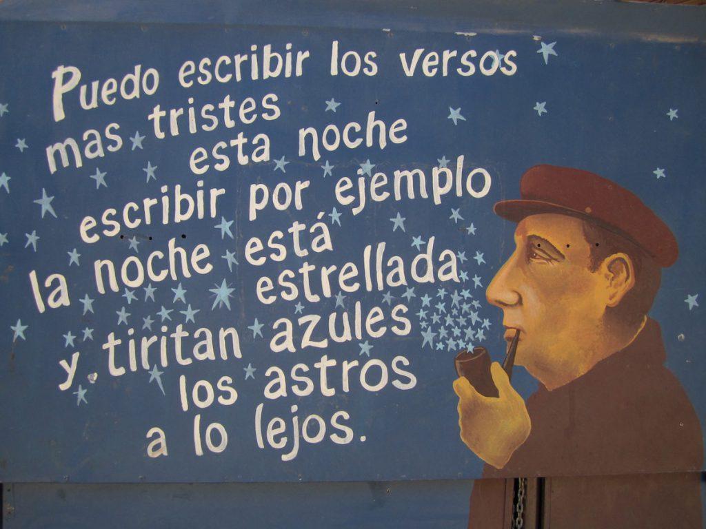 Poema 20, Pablo Neruda- Imagen de asociacionalba.org.uk