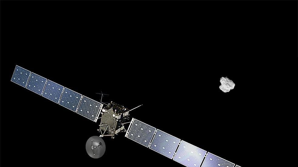 Rosetta terminará su misión el 30 de septiembre