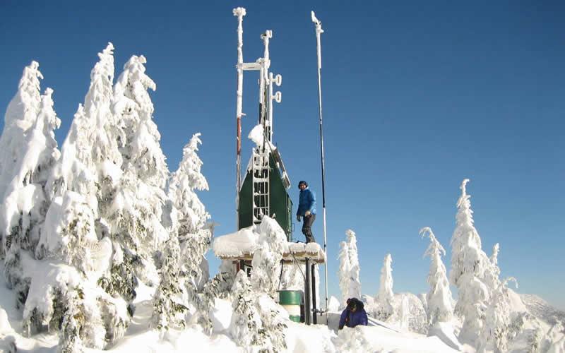 El Ártico se está calentando más rápido que el resto de la Tierra, pero hay menos lecturas históricas de temperatura allí que de latitudes más bajas debido a que es tan inaccesible. Credits: British Columbia Ministry of Transport