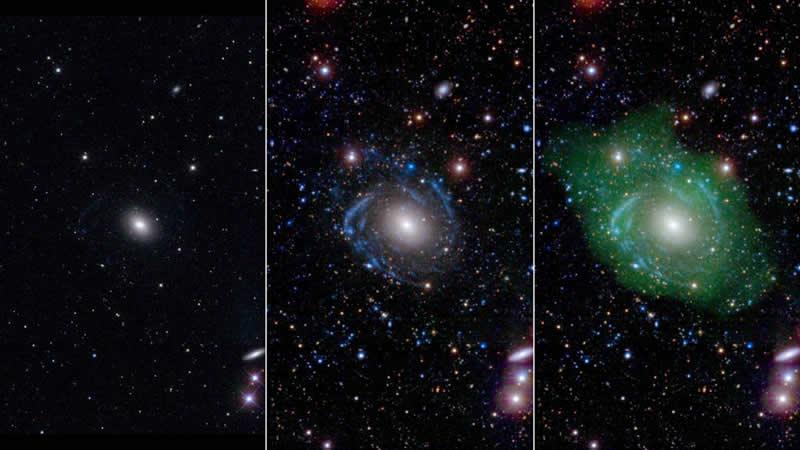"""Galaxia """"Frankenstein"""" Sorprende a los Astrónomos"""