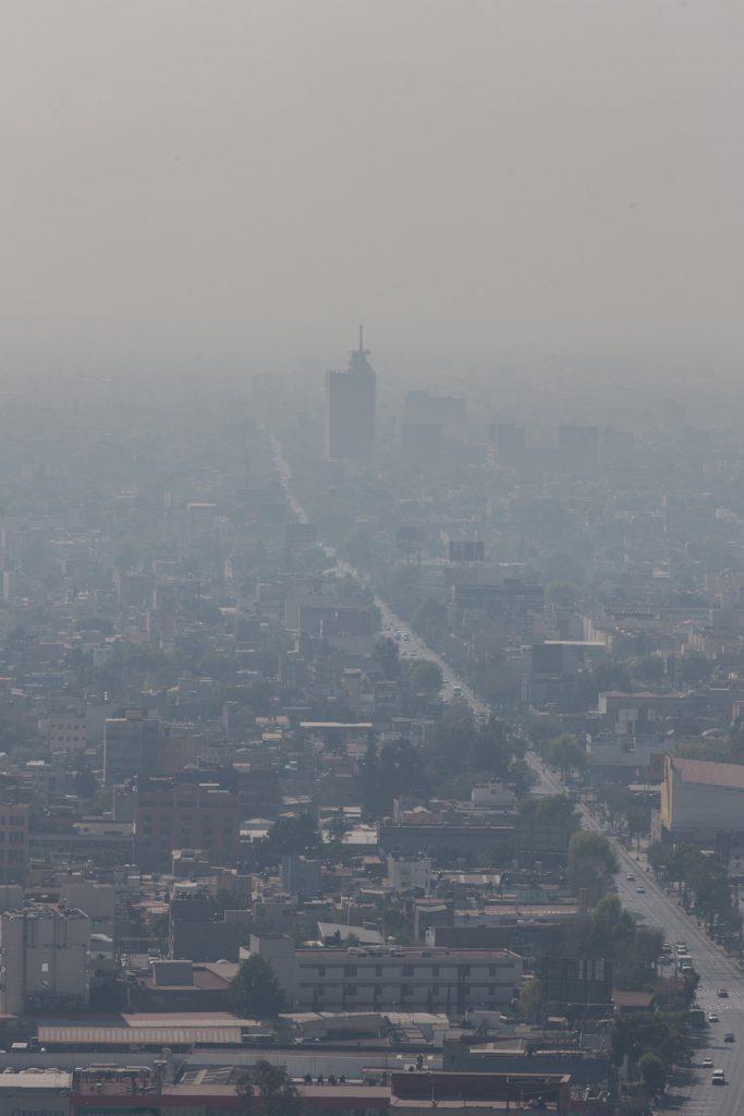 Contaminación ambiental en la Ciudad de México- Pedro Mera, Xinhua