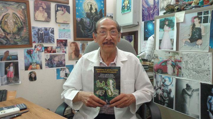 El genetista Roberto Lagunes Torres