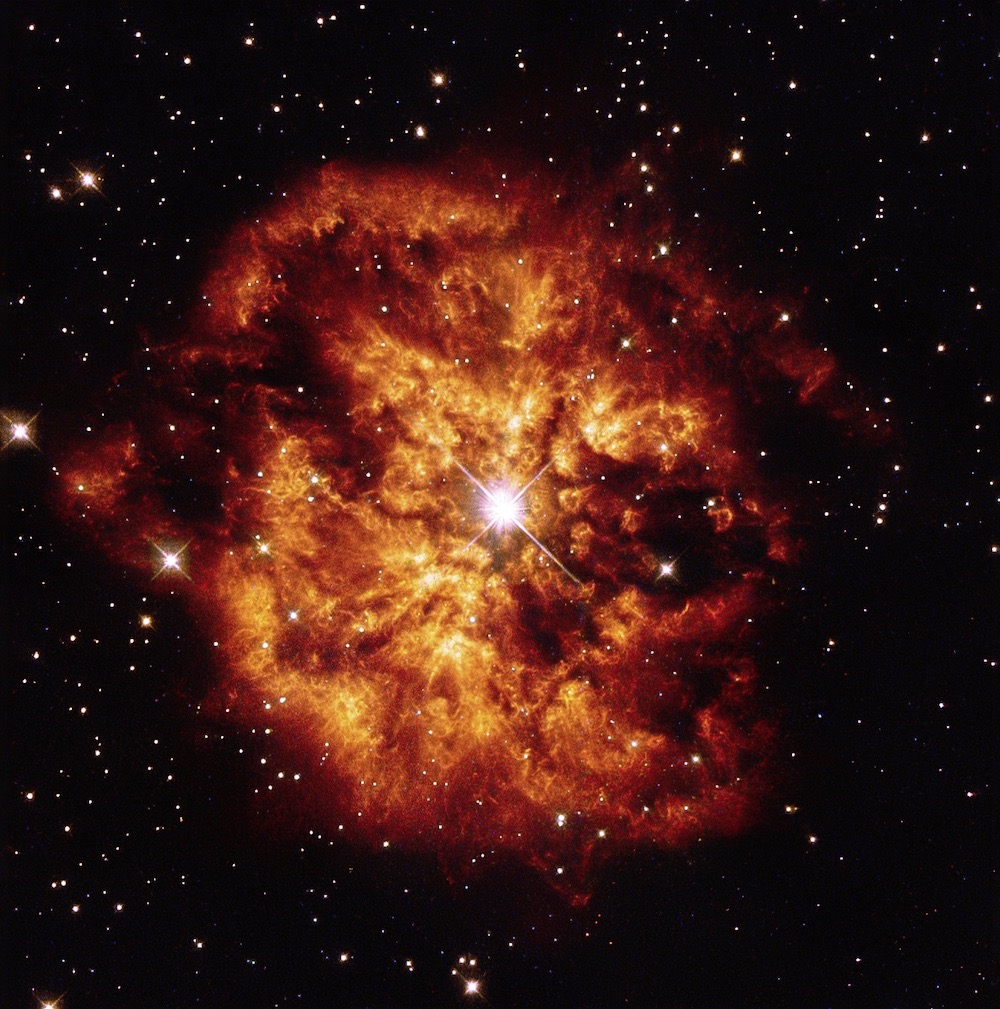 Astrónomos chilenos captan el chorro energético de una estrella en formación. FOTO: UCHILE