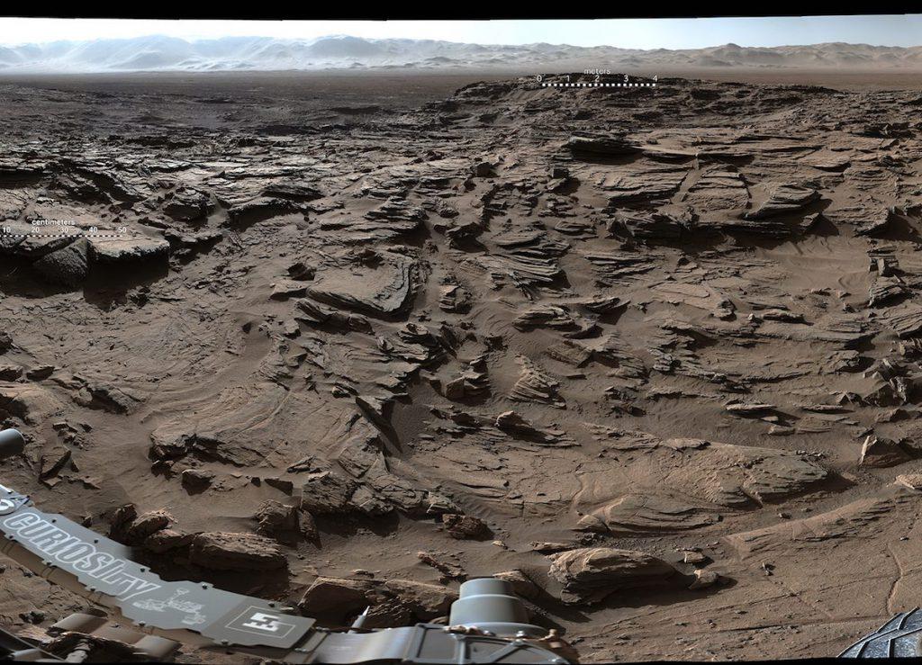 Marte captado por Curiosity