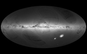 Primer mapa del firmamento de Gaia