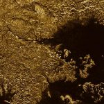 Cañones con metano en Titán