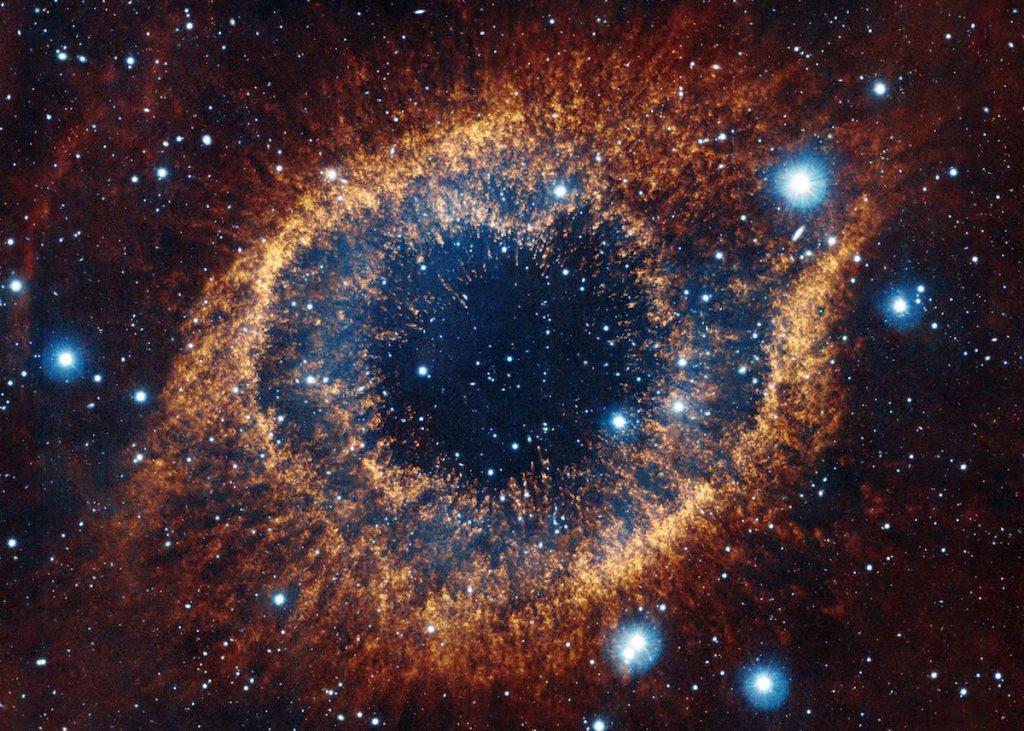 Nebulosa de la hélice, NGC 7293, también conocida como el Ojo de Dios- ESO