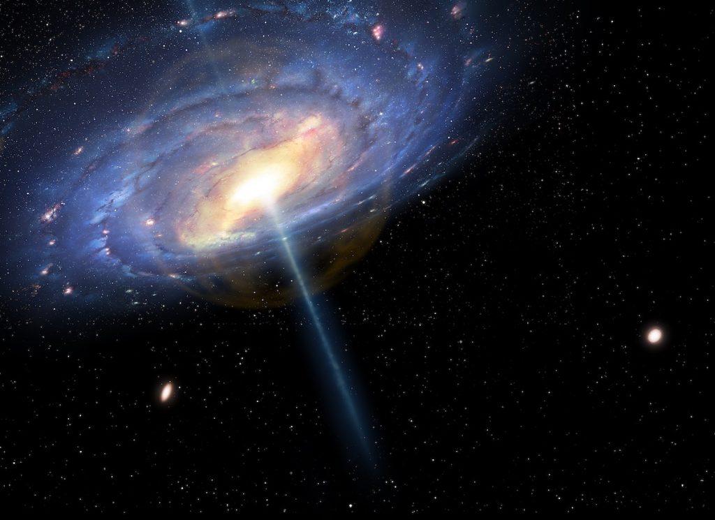 La Vía Láctea tiene un pasado explosivo; su hoyo negro estuvo muy activo