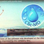 Clic-MD, software para identificar tendencias del cambio climático, desarrollado en la UNAM
