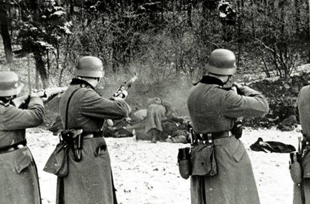 Masacre de civiles polacos durante la ocupación nazi en 1939 / Wikipedia