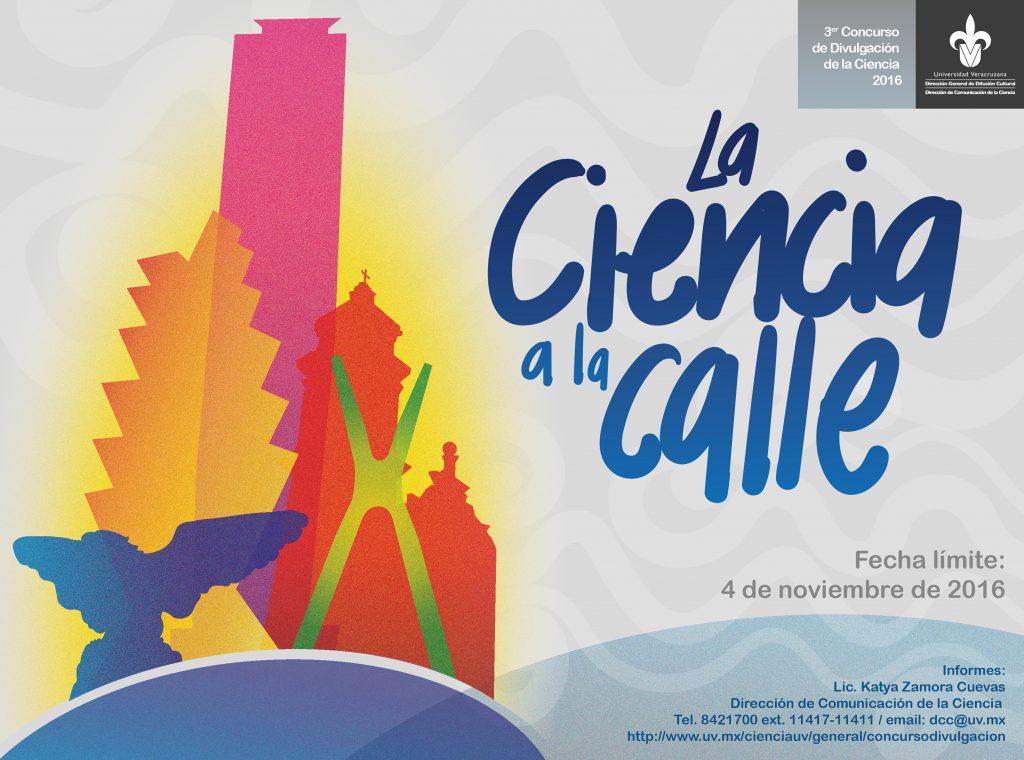 Tercer concurso de divulgación de la ciencia de la Universidad Veracruzana