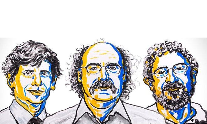 Los científicos David Thouless, Duncan Haldane y Michael Kosterlitz son los galardonados con el Premio Nobel de Física 2016- Nobelprize.org