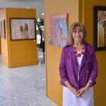Presenta la pintora Dinorah Alduenda exposición fantástica, en el Congreso