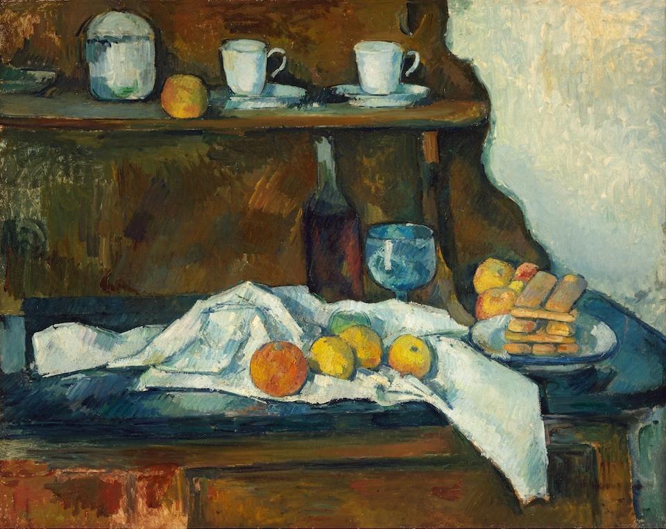 El aparador, Paul Cézanne, 1877-1879- Szépmúverzeti Múzeum, Budapest