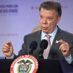 Le otorgan el Nobel de la Paz al presidente de Colombia, Juan Manuel Santos