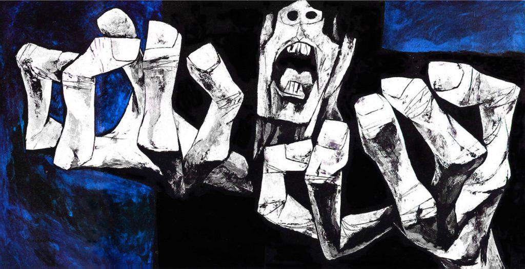 Las manos de la protesta- Osvaldo Guayasamín
