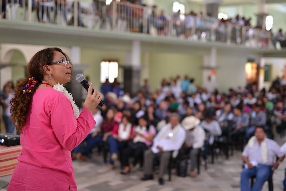 Nelly López Azuz, directora de Saber Ser de Latinoamérica y el Caribe México