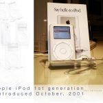 El primer iPod, lanzado el 23 de octubre de 2001