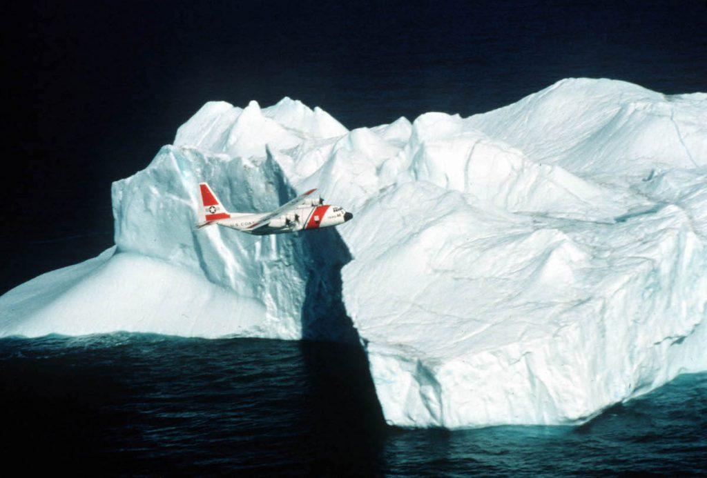 Vigilar los icebergs con satélites