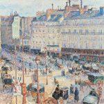 La Havre du Havre, Paris, Camille Pissarro, 1893- The Art Institute of Chicapgo, Colección Potter Palmer