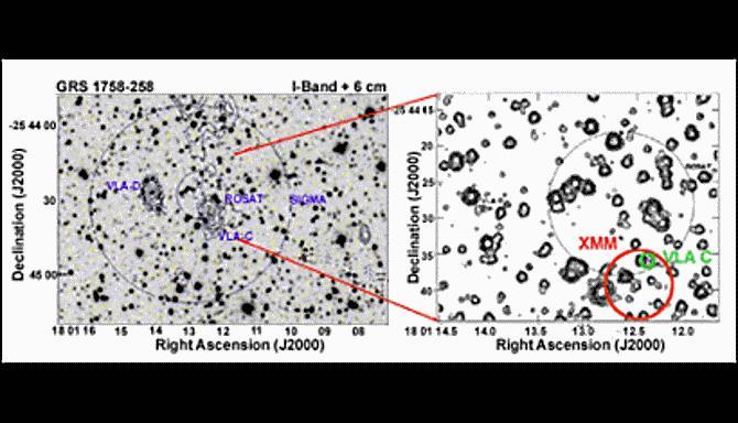 Observaciones ópticas y de radio del entorno del microcuasar GRS 1758-258. / Josep Martí/UJA