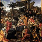 La Adoración de los Magos, Filippino Lippi, 1496