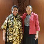 Embajadora destaca papel de grupos artísticos y exposiciones de la UV en Brasil