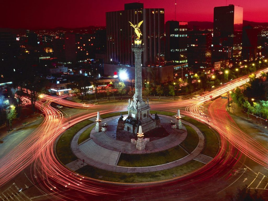 Ciudad de México, el Ángel de la Independencia