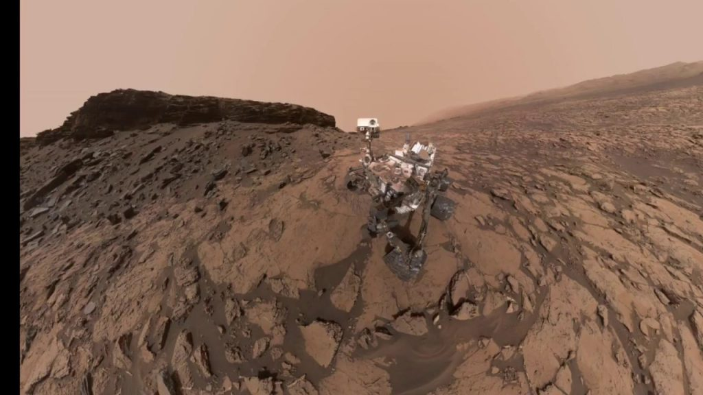 Autoretrato del rover Curiosity operando en el suelo marciano- NASA/JPL-Caltech/MSSS